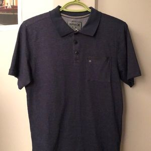 Blue Hurley light-weight polo